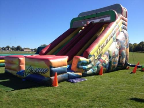 Xtreme 22' Double Lane Inflatable Slide Rental